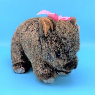 茶臼山動物園ウォンバット モモコぬいぐるみ 【5,000円以上送料無料対象商品】