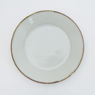 さび李朝 しのぎ皿(3サイズ)