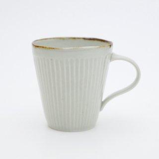 さび李朝 しのぎマグカップ