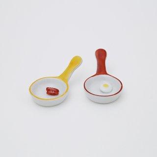 フライパン 箸置き(2種)