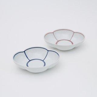 ふちどり 木瓜小鉢(2色)