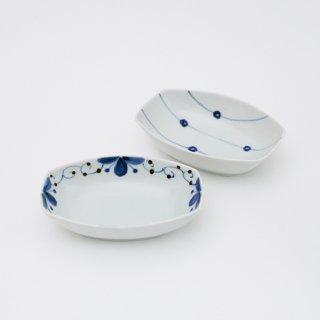 舟形小鉢(2柄)