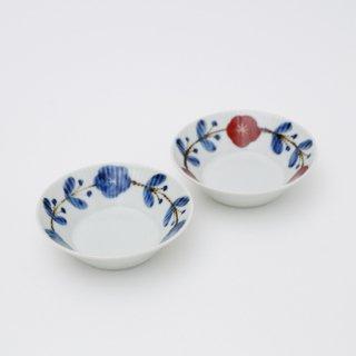 さび花つなぎ しのぎ小鉢(2色)