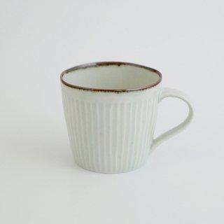 さび李朝 しのぎカフェマグカップ