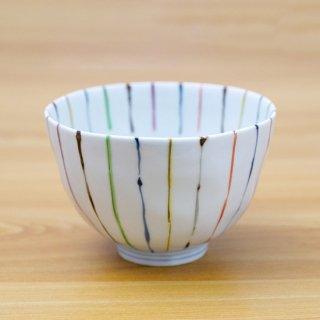 染錦線十草麺鉢(大)