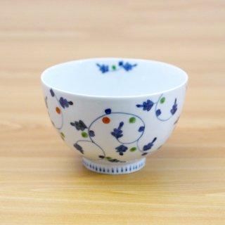 染錦唐草つなぎ麺鉢(小)