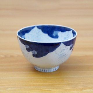 染付波千鳥麺鉢(小)