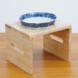 【大型犬用】Pet's Food Bowl Set(染付渕蛸唐草)