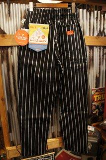 Cookman Chef Pants (「Stripe」 BLACK)