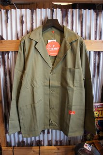 Cookman Lab.Jacket (「Khaki」)