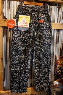 Cookman Chef Pants (「Paisley」 Black)