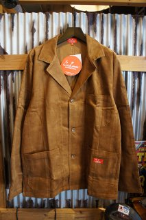 Cookman Lab.Jacket (「Corduroy」 Brown)