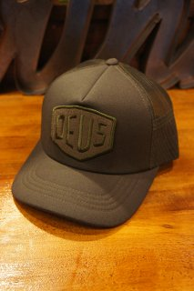 DEUS EX MACHINA TERRY SHIELD TRUCKER (LODEN GREEN)