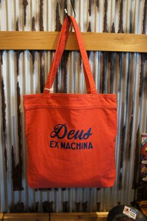 DEUS EX MACHINA Sunny Tote (RED CLAY)