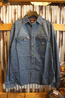 DEUS EX MACHINA MAXWELL WORKERS SHIRT (LIGHT INDIGO)