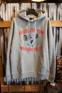 DEUS EX MACHINA LIFTER HOODIE (GREY MARLE)