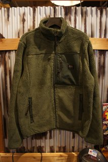 DEUS EX MACHINA FLETCHER FLEECE JACKET (FOREST GREEN)