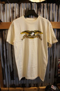 ANTIHERO EAGLE S/S T-Shirt (CREAM)