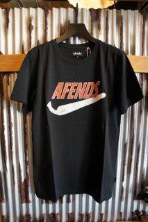 AFENDS JUST DID IT - STANDARD FIT TEE (Black)