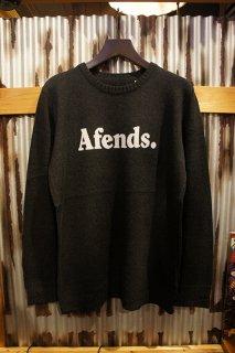 AFENDS FEND JAQUARD KINIT (BLACK)
