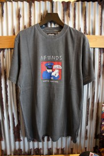 AFENDS Reality RETRO FIT TEE (BLACK)