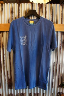 VANS × BROTHERS MARSHALL T-SHIRT (TRUE BLUE)