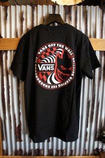 VANS × SPITFIRE SS T-SHIRT (BLACK)