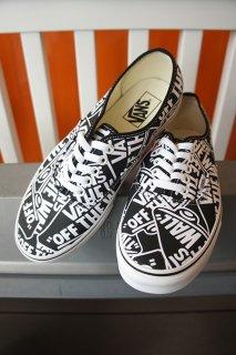 VANS Authentic (OTW Repeat) Black/True White