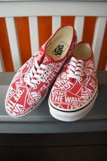 VANS Authentic (OTW Repeat) Red/True White