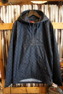 VANS × INDEPENDENT CHECKERBOAR ANORAK JACKET (DRESS BLUES)