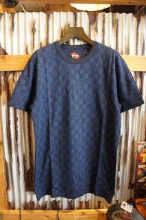 VANS × INDEPENDENT JACQUARD CR T-SHIRT (DRESS BLUES)