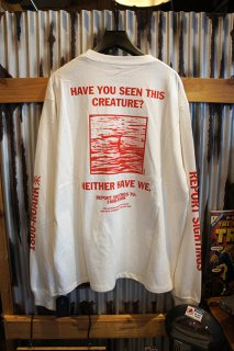 "ROARK REVIVAL ""LOCHNESS"" L/S POCKET TEE (WHITE)"