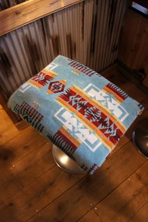 PENDLETON Oversized Jacquard Towels XB233 (Chief Joseph Aqua)