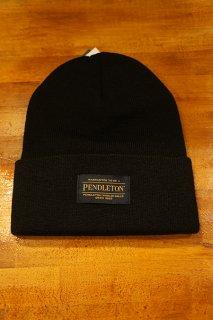 PENDLETON Logo Beanie (Black)