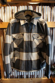 BRIXTON CASBURN JACKET (CHARCOAL/BONE WHITE)
