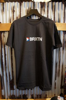 BRIXTON STOWELL IV S/S STANDARD TEE (WASHED BLACK)