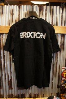 BRIXTON INTERCEPTOR II S/S PREMIUM TEE (BLACK)