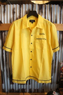 BRIXTON IRVING S/S WOVEN (YELLOW)