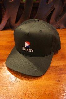 BRIXTON STOWELL II MP SNAPBACK CAP (EMERALD)