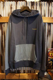 Barney Cools B.Quick hood sweatshirt (Navy panel)