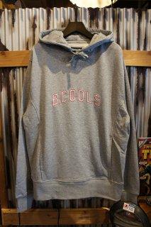 Barney Cools College hood sweatshirt (Grey Melange)