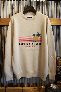 Barney Cools Beach crew knit (Stone)