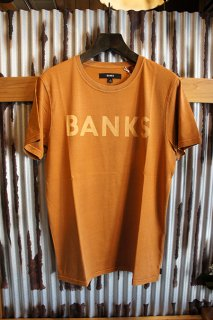 BANKS CLASSIC TEE SHIRT (BURNT KHAKI)