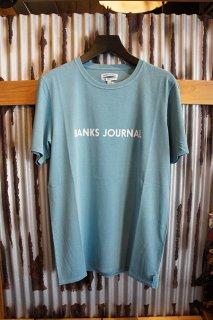 BANKS JOURNAL LABEL TEE SHIRT (SEAFOAM)