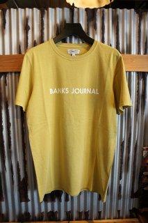 BANKS JOURNAL LABEL TEE SHIRT (LEMON)