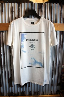 BANKS JOURNAL ADAM ONE PALM TEE SHIRT (OFF WHITE)