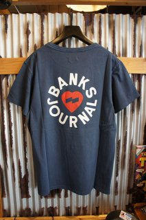 BANKS JOURNAL HEART RINGS TEE SHIRT (INSIGNIA BLUE)