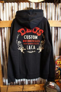DEUS EX MACHINA ESSENCE HOODIE (BLACK)