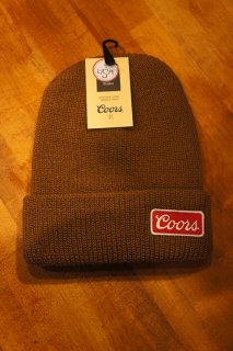 BRIXTON × Coors COORS II BEANIE (COPPER)