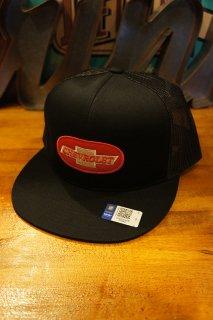 BRIXTON × CHEVROLET MICHIGAN MEDIUM PROFILE SNAPBACK CAP (BEL AIR BLACK)